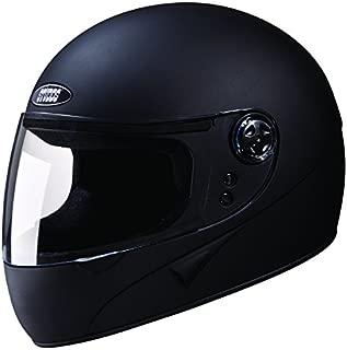 Studds Chrome Super Full Face Helmet (Matt Black, XL)