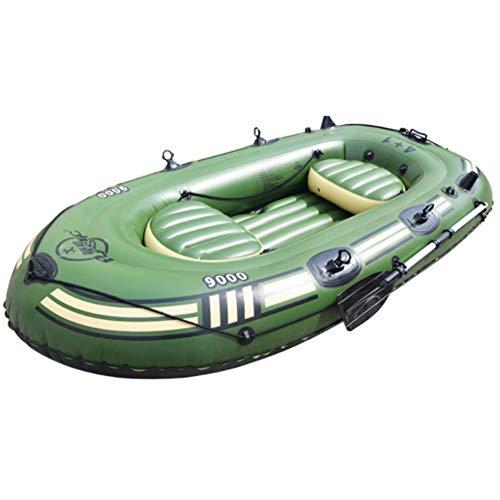 WJJJ SHZJ 2/3/4/5/6 Persona Kayak Gommone Barca Resistente All'Usura Gommone Doppio Peschereccio Extra Spessa Barca D'Assalto Hovercraft