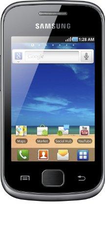 Samsung Galaxy Gio (S5660) - Smartphone libre Android (pantalla 3', cámara 3 Mp, 158 MB, 278 MB RAM, WiFi), gris oscuro