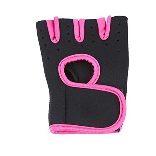 YQ&TL Gloves Bike Cycling Gloves for Men Men's and Women's Fitness Gloves Non-Slip Sports Training Half Finger Horizontal Bar Bicycle Weightlifting Fitness Gloves C S