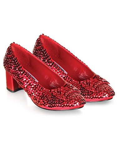 Child Red Sequin Shoes X-Small