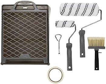 Amazon Basics 9-Piece Paint Roller Kit