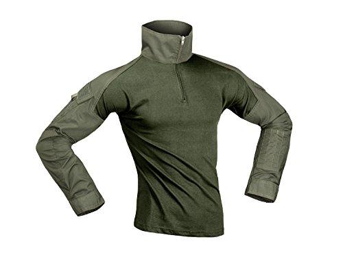 Invader Gear Combat Shirt, mit Oberarmtaschen, hoher Tragecomfort - Olive M
