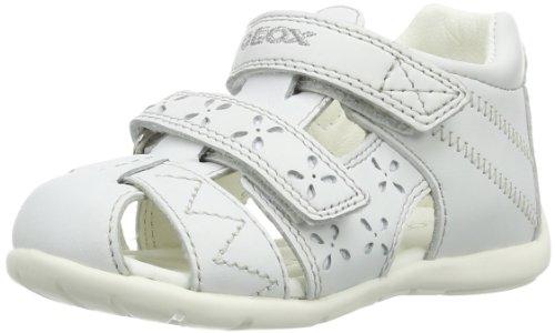 Geox Baby Mädchen B KAYTAN B Sandalen, Weiß (WHITE C1000), 21 EU