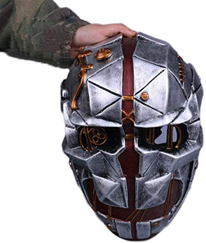 86XH Punk Maske Dishonored Shame 2 Humiliation 2 Mask Corvo Cosplay Halloween Attentäter Maske, Humiliation2Masks-Onesize PinBaiYa