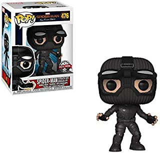 Pop Marvel: Spiderman Far From Home - Stealth Suit Goggles Up Exc