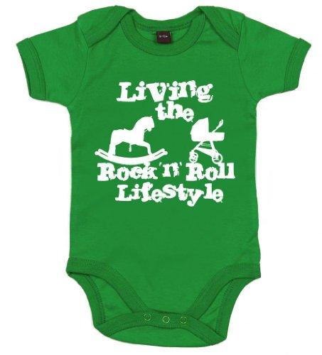 IiE Living the Rock 'n Roll Lifestyle Body unisexe pour bébé garçon et fille