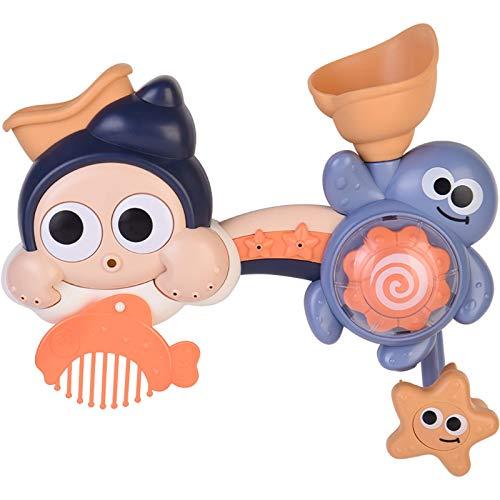Heizung Juguetes de Piscina Bebé baño Juguete niños Jugar Agua Jugar Agua rinkler transferir música bebé natación baño baño niña niño Regalo para niños y niños pequeños