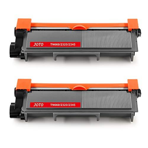 JOTO TN2320 TN2310 Compatibile per Brother Toner TN-2320 TN-2310 per Brother MFC-L2700DW MFC-L2700DN MFC-L2740DW MFC-L2720DW DCP-L2500dW DCP-L2540DN DCP-L2520DW DCP-L2560DW HL-L2340DW HL-L2365DW