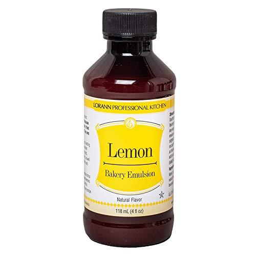 LorAnn Lemon Bakery Emulsion, 4 ounce bottle