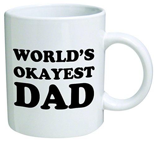 World's Okayest Dad Coffee Mug