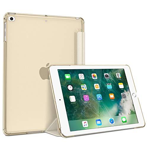 Fintie Hülle für iPad 9.7 Zoll 2018/2017 - Superdünn Schutzhülle mit durchsichtiger Rückseite Abdeckung Cover mit Auto Schlaf/Wach für 9.7
