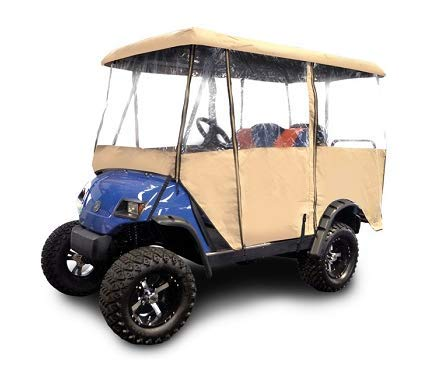 """RED DOT Universal Golf Cart Enclosure for Carts with 80"""" Top"""