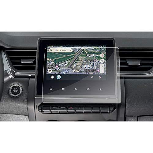 RUIYA - Pellicola protettiva per display auto, in plastica, per Captur 2 | Clio 5 | Zoe Easylink 2020+ [7 pollici] [2 pezzi]