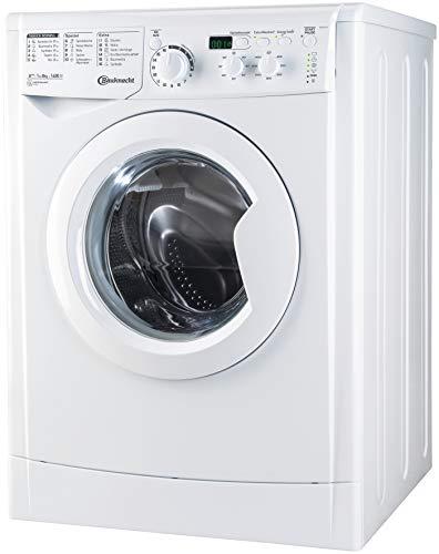 Bauknecht WM MT 8 IV Waschmaschine Frontlader unterbaufähig/ A+++/ 8 kg Fassungsvermögen/ 1400 UpM/ ProSilent Inverter Motor/ Startzeitvorwahl/ Mengenautomatik