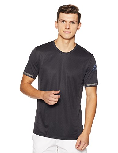 adidas Herren Supernova Climachill T-Shirt, Chill Black Melange, S