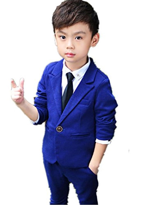 子供スーツ キッズ服 男の子衣装 ズボン、コート 2色入荷 卒業式/入園式/発表会/七五三/フォーマル 100~130cm