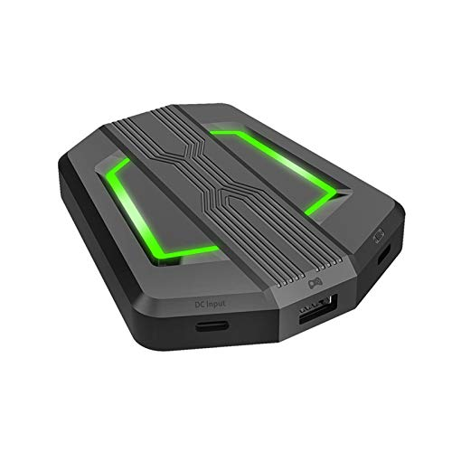 SANON Tastiera Mouse Convertitore Convertitore Gamepad Porta Tipo C per Console di Gioco Plug And Play