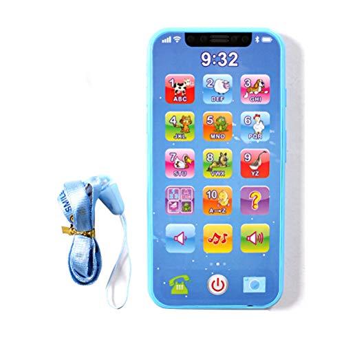 Heylas Handy Spielzeug Baby Musik Spielzeug Elektronische Frühe Pädagogische Lernmaschine Gadget Telefon Spielzeug Multifunktionale Kinder Smartphone Spielzeug