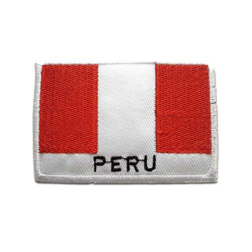 Parches - Perú bandera - blanco - 4