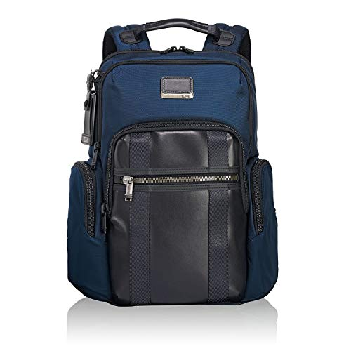 "TUMI Alpha Bravo - Nellis Laptop Backpack 15"" Mochila tipo casual, 40 cm, 22.28 liters, Azul (Navy)"