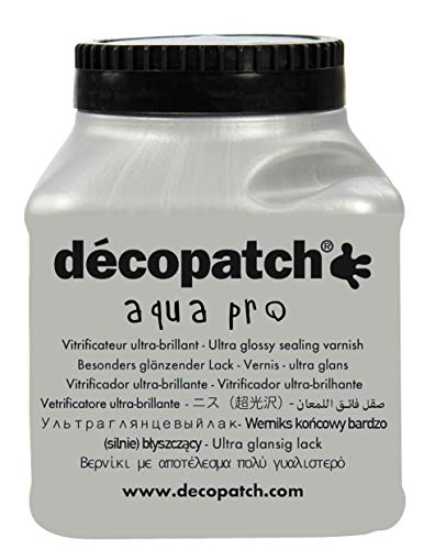 Decopatch- Vitrificatore, Colore Kraft Naturale, 180 ml, VAUB180AO