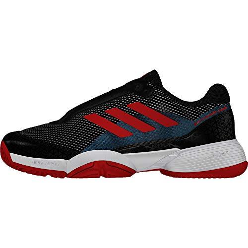 Adidas Barricade Club Xj, Zapatillas de Tenis Unisex Adulto, Negro (Negro 000), 38 2/3 EU