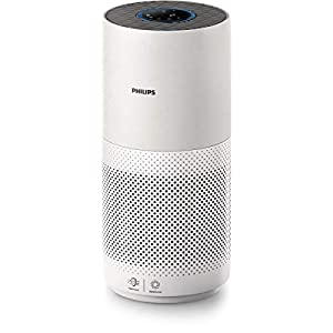 Philips Purificatore d'aria Serie 2000 AC2939/10, Purificazione automatica e instantanea, con filtro a 3 strati, indicatore intelligente dello stato del filtro, tracciamento e controllo tramite app