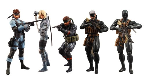 Metal Gear Solid 20th Anniversary Ultra Detail Figure Solidus Snake Snake Eater Display Action Figure