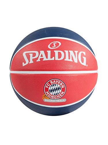 FC Bayern München Basketball FCBB Ball rot Navy Größe 7
