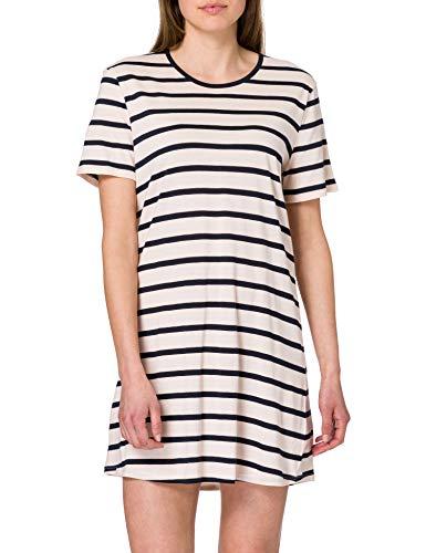 Schiesser Damen Sleepshirt 1/2 Arm Nachthemd, Rosa (zartrosa), 48