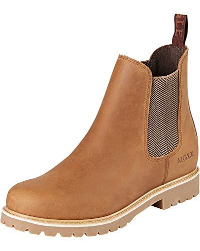 Aigle Damen Chelsea Boots Darven W Brown cidre braun - 39