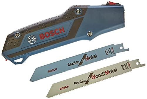 Bosch Professional Empuñadura para hojas de sierra sable con hojas de sierra sable incluidas (1 x S 922 EF, 1 x S 922 VF)