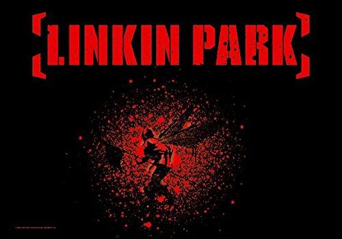 empireposter Linkin Park - Soldier Wings - Posterflaggen Fahne - Größe 110x75 cm
