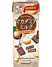 キッコーマン マカダミアミルクチョコレート 200ml×18本