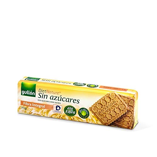 Gullón - Galleta Fibra sin azúcar Diet Nature 170g