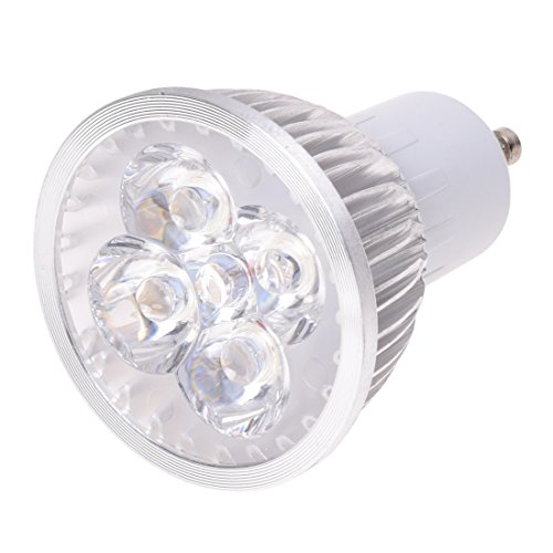 Fltaheroo del proyector del Bulbo de la lampara LED GU10 Blanco Calido 3500K