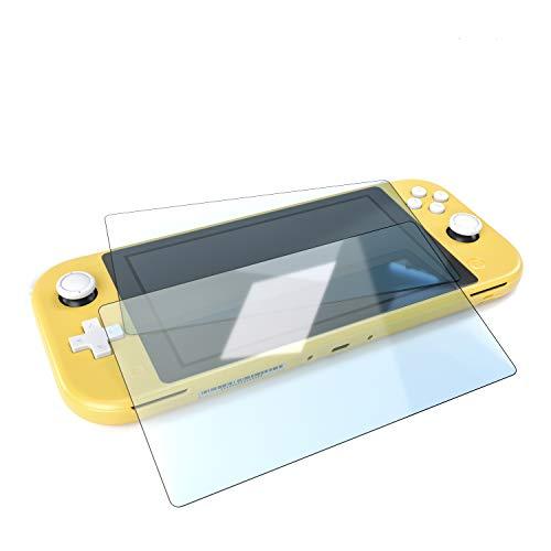 innoGadgets Panzerfolie Schutzfolie kompatibel mit Nintendo Switch Lite 2X - Extrem dünn, Ultra hart [9H] und 100% transparent - Displayschutz – Einfaches Anbringen ohne Bläschen