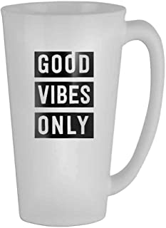 Good Vibes Only Mug 16 Oz ? Mens Mom Ceramic Gifts Tea Cup/Humor/Retirement Coffee Cup Office Mug Gift/Perfect Gift for Family and Friends?