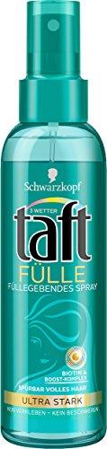 Schwarzkopf Lot de 6 sprays de remplissage 3 Wetter taft - Tenue ultra forte - 6 x 150 ml