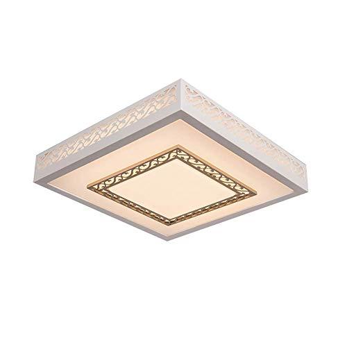 ZJZ LED plafondlamp badkamer verlicht plafond voor woonkamer moderne balkonlamp diameter: 50 cm