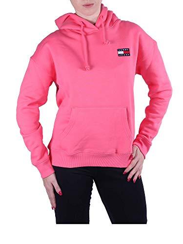 Tommy Jeans Damen Kapuzensweatshirt pink (71) M