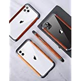 iPhone 11 ケース アイフォン XR 対応 Uovon 天然木 アルミバンパー ダブル構造 木製フレー 高級感 保護カバー スマホケース