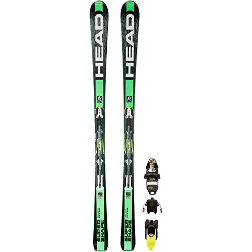 Head - Skis Isupershape Magnum Homme + Fixations Prx 12 - Homme - Taille  177 - Vert