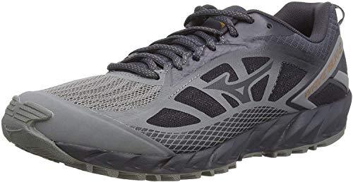 Mizuno Wave Ibuki 2, Zapatillas de Running para Asfalto para Hombre, Gris (Gray/Pscope/10135 C 36), 39 EU