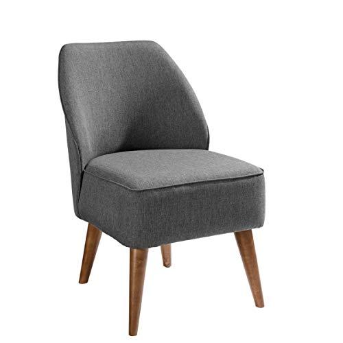 VEGA 10008168 Sessel Lasse Stoff, 54x60x82 cm (BxTxH), Sitz grau meliert, 1 Stück