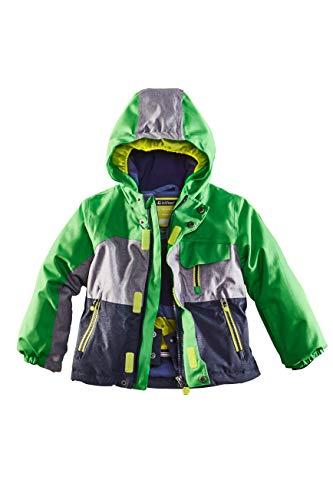 Killtec Kinder Deny Mini Skijacke, grün, 122/128