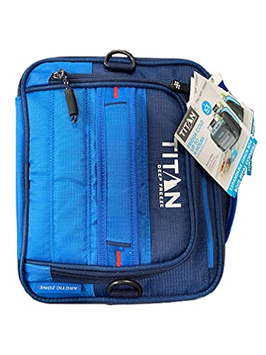 Titan Deep Freeze Expandable Lunch Box with 2 Ice Walls