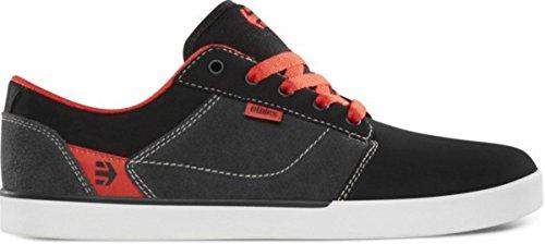 Etnies Skateboard Schuhe Jefferson Black/Dark Grey/Red Shoes, Schuhgrösse:42