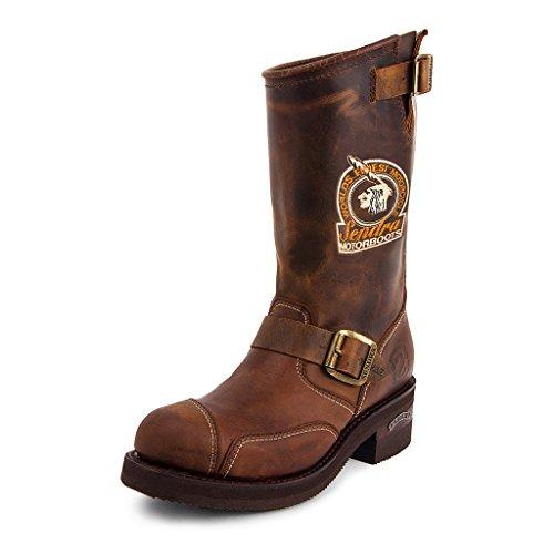 Sendra Boots - 3565 Steel Mad Dog, braun, 45 EU